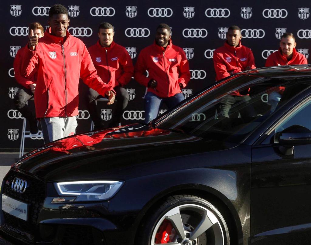 Duong ai nay di, Audi doi lai xe sang da tang cac cau thu Barcelona hinh anh 6