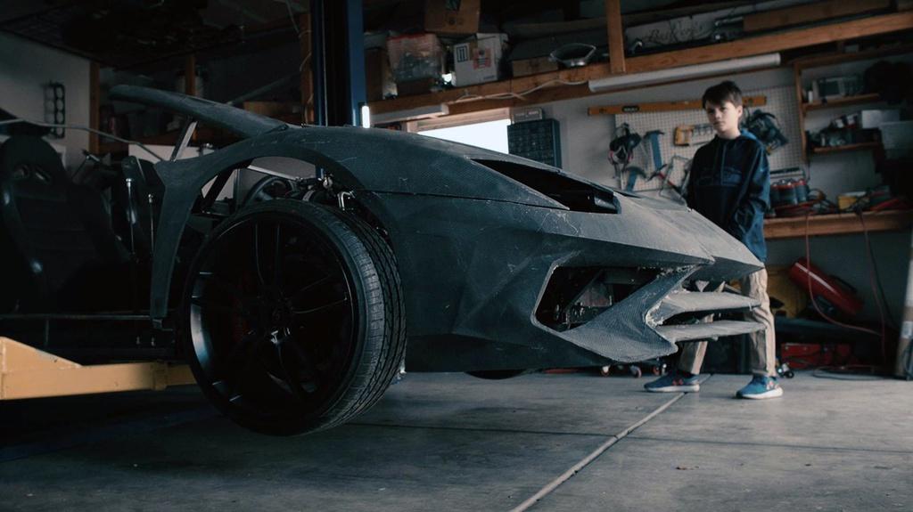 Tu che Lamborghini cho con, ong bo duoc tang sieu xe that hinh anh 3 3.jpg