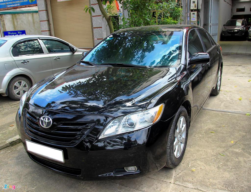 Toyota Camry LE doi 2008 nhap My, hon 10 nam gia van gan 600 trieu hinh anh 1