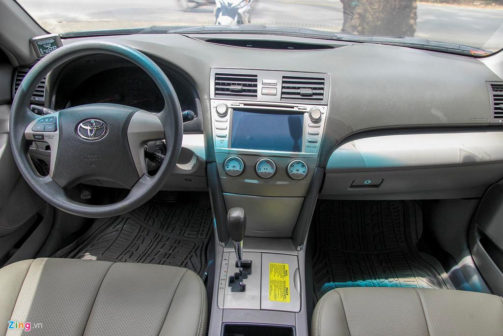Toyota Camry LE doi 2008 nhap My, hon 10 nam gia van gan 600 trieu hinh anh 5