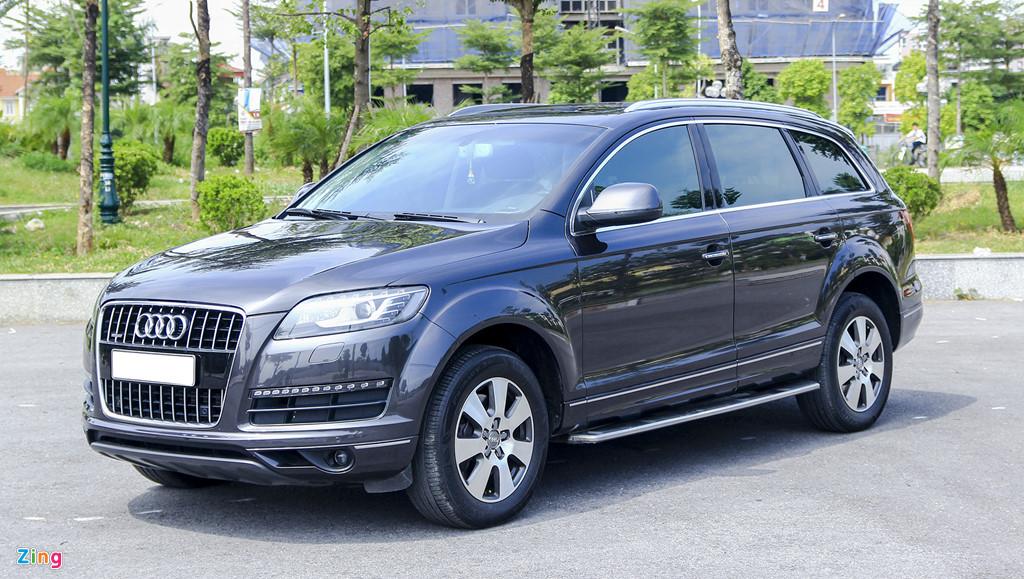 Audi Q7 10 nam tuoi, gia tuong duong Honda CR-V hinh anh 1