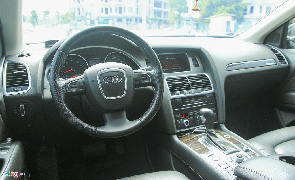 Audi Q7 10 nam tuoi, gia tuong duong Honda CR-V hinh anh 10