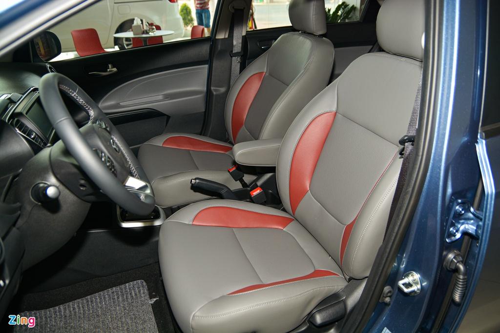 500 trieu dong chon Kia Soluto AT Luxury hay Toyota Vios 1.5E CVT? hinh anh 11 7_SolutoATLuxury_zing.jpg