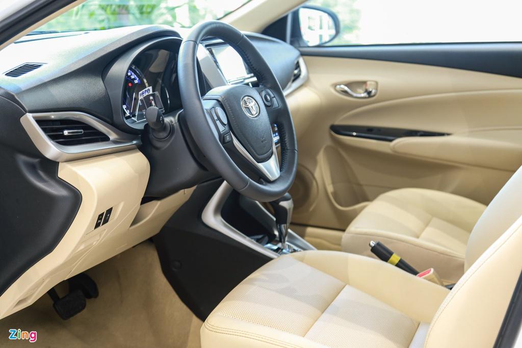 500 trieu dong chon Kia Soluto AT Luxury hay Toyota Vios 1.5E CVT? hinh anh 12 Vios_15_zing.jpg