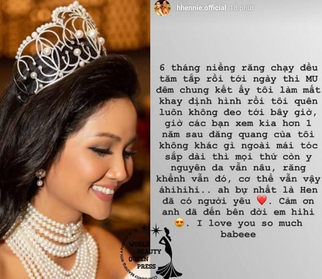 H'Hen Nie cong khai viet ve ban trai: 'Cam on anh den ben doi em' hinh anh 1