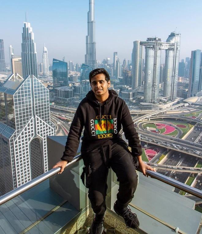 Rich kid 10X Dubai so huu ca vuon thu mini hinh anh 2