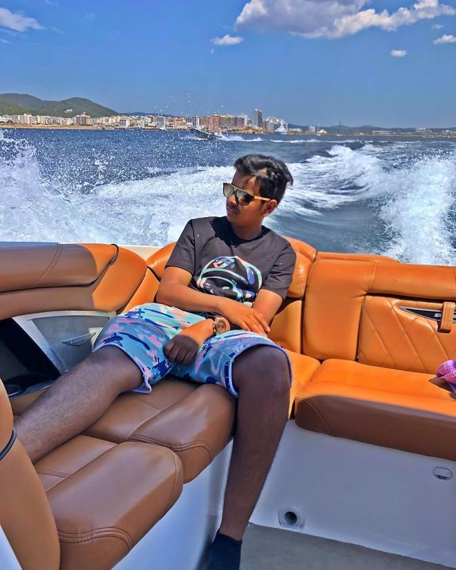 Rich kid 10X Dubai so huu ca vuon thu mini hinh anh 3
