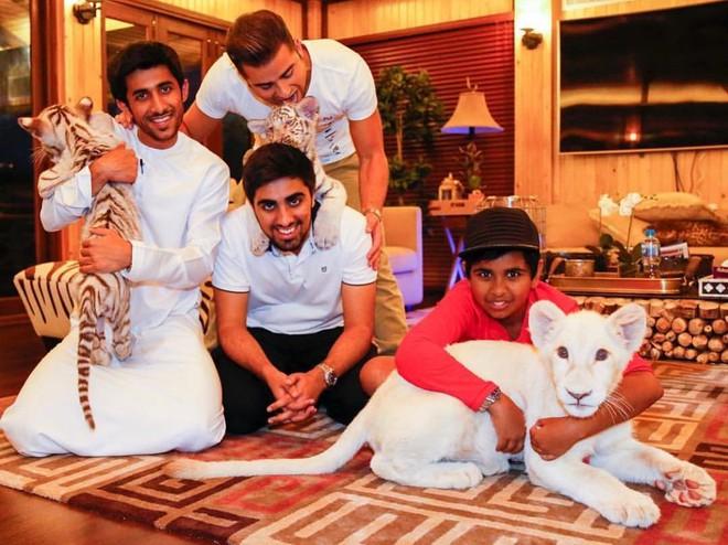 Rich kid 10X Dubai so huu ca vuon thu mini hinh anh 9