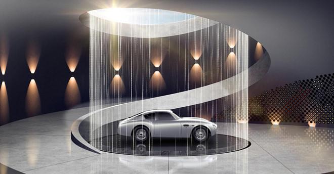 Aston Martin xay gara trong mo cho sieu xe hinh anh 2