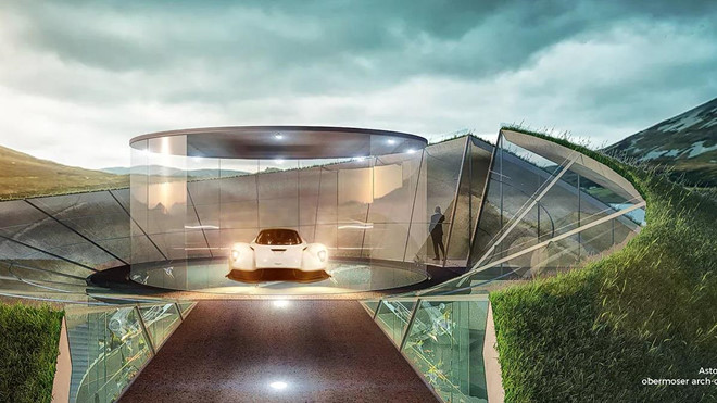 Aston Martin xay gara trong mo cho sieu xe hinh anh 5