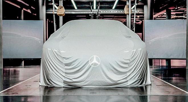 Concept xe dien Mercedes-Benz EQ co noi that kieu phi thuyen vu tru hinh anh 7
