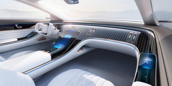 Concept xe dien Mercedes-Benz EQ co noi that kieu phi thuyen vu tru hinh anh 3