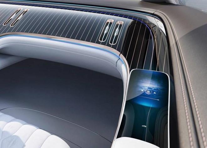 Concept xe dien Mercedes-Benz EQ co noi that kieu phi thuyen vu tru hinh anh 6