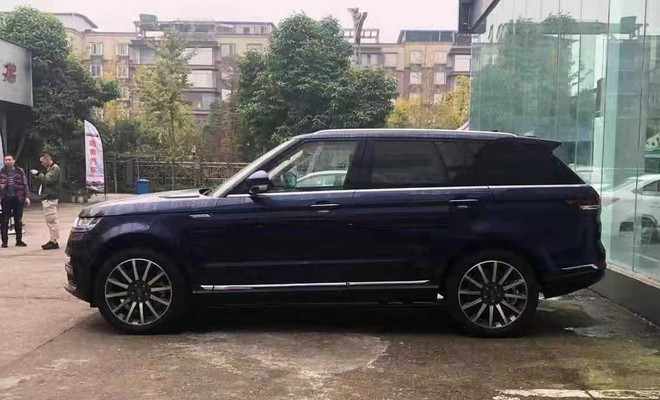 Range Rover Sport nhai cua Trung Quoc gia chi bang 1/10 hinh anh 2