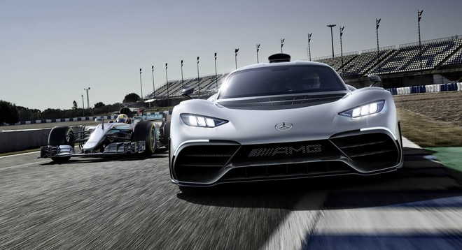 Sieu xe Mercedes AMG One giao hang dau nam 2021 hinh anh 1