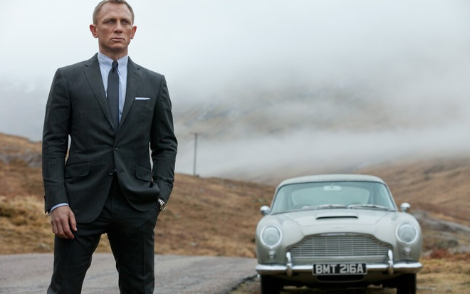 Daniel Craig va nhung lan lai xe cho Bond trong Diep vien 007 hinh anh 6