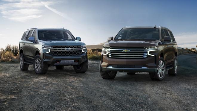 Mua xe gia dinh, chon SUV 8 cho nao? hinh anh 7 Chevrolet_Tahoe_2020.jpeg