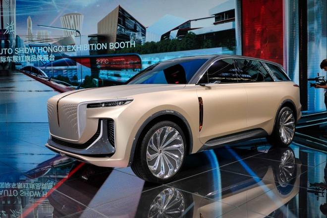Hang xe Trung Quoc san xuat SUV nhai Rolls Royce hinh anh 5 5a953764_hongqi_e115_concept_at_2019_frankfurt_motor_show_3.jpg
