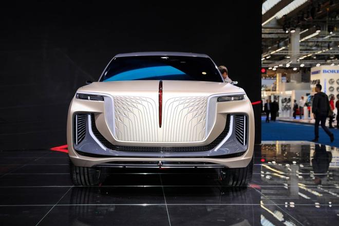 Hang xe Trung Quoc san xuat SUV nhai Rolls Royce hinh anh 1 90e55676_hongqi_e115_concept_at_2019_frankfurt_motor_show_1.jpg