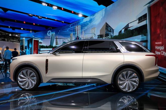 Hang xe Trung Quoc san xuat SUV nhai Rolls Royce hinh anh 12 Hongqi_E115_SUV_2.jpg