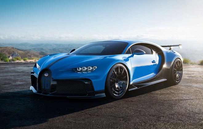 Bo suu tap 6 sieu xe Bugatti tri gia 35,6 trieu USD hinh anh 1 bugatti_chiron_pur_sport.jpg