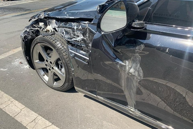 Hyundai Genesis G80 2021 gap nan ngay sau khi giao xe hinh anh 2 703878.jpg
