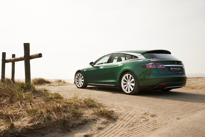 Xe dien Tesla doc nhat co gia gan 250.000 USD hinh anh 4 Tesla_Model_S_Shooting_Brake_4.jpg
