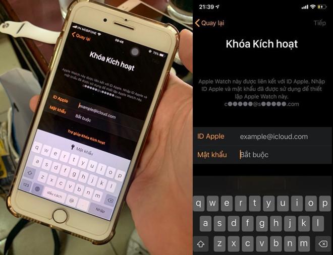 Sau iPhone, mot chiec Apple Watch cung bi khoa tu xa tai Viet Nam hinh anh 1