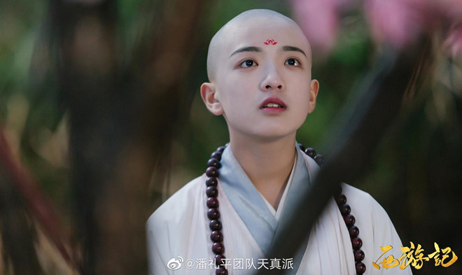 Ve de thuong cua Duong Tang 13 tuoi trong 'Tay du ky' phien ban nhi hinh anh 3