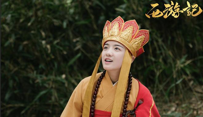 Ve de thuong cua Duong Tang 13 tuoi trong 'Tay du ky' phien ban nhi hinh anh 1