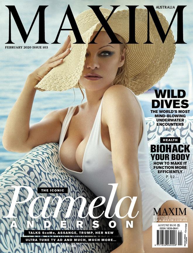 'Bom sex' Pamela Anderson khoe duong cong boc lua o tuoi 53 hinh anh 1 pamela1.jpg