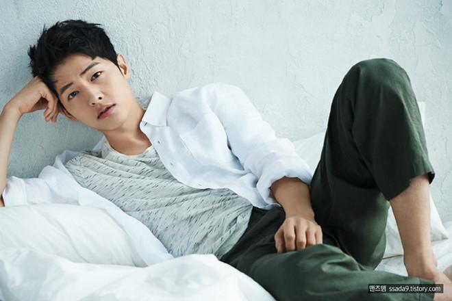 Song Joong Ki o tuoi 34 - ly hon, gay go va khoc trong ngay sinh nhat hinh anh 1