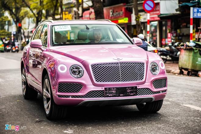 SUV sieu sang Bentley Bentayga mau hong dau tien tai Viet Nam hinh anh 1 Bentayga_zing_4.jpg