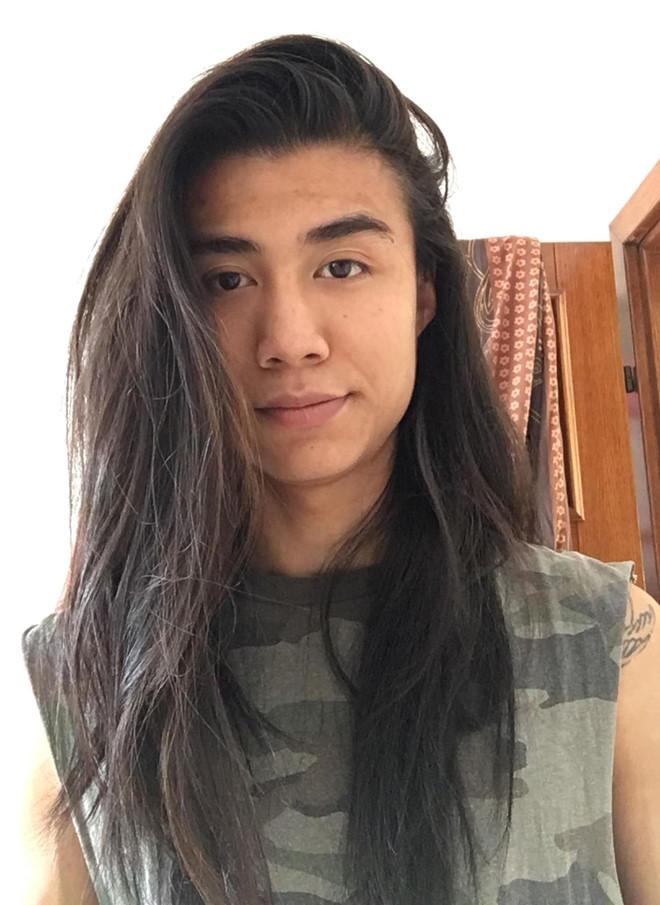 Nuoi toc dai tang benh nhan ung thu, chang trai hay bi nham la con gai hinh anh 1