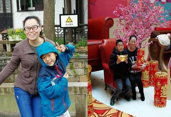 Kỳ nghỉ đông bất thường của cậu bé có mẹ tới Vũ Hán nhận nhiệm vụ