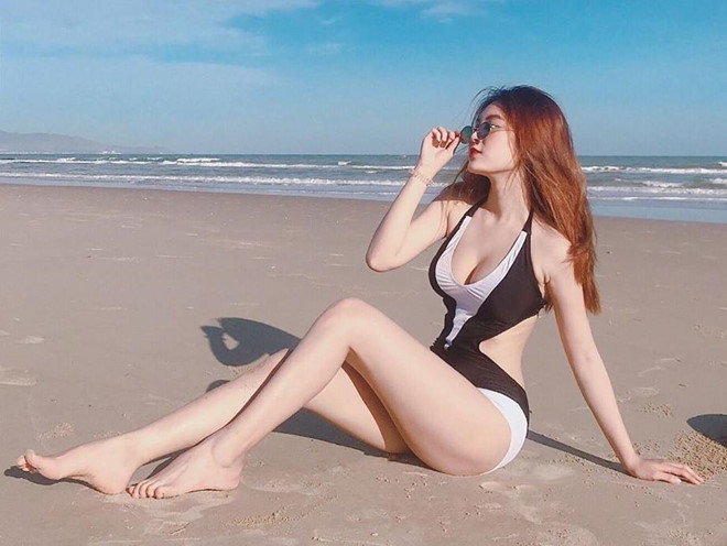 Dan hot girl so huu vong eo con kien cham khoe anh goi cam hinh anh 10