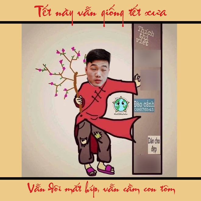 Anh che su khac nhau giua Tet xua va nay cua tuyen thu Viet Nam hinh anh 5
