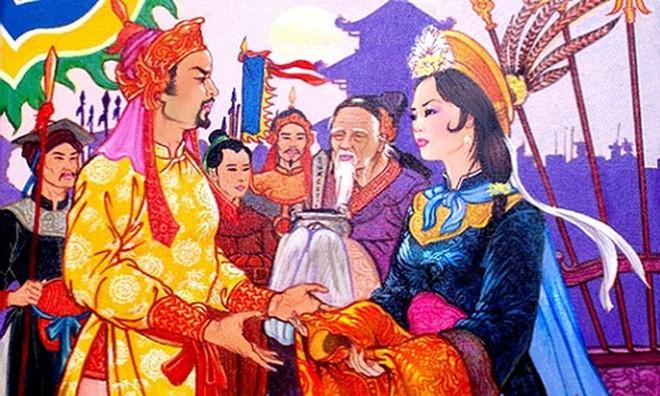 Nguoi phu nu tai sac tung 3 lan tu choi lam vo vua Le Hoan hinh anh 1