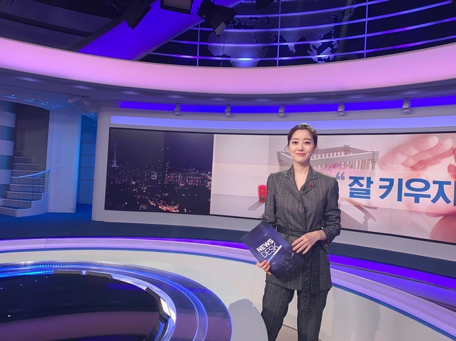 MC dan ban tin tren noc khach san Ha Noi noi tieng o Han Quoc the nao? hinh anh 5