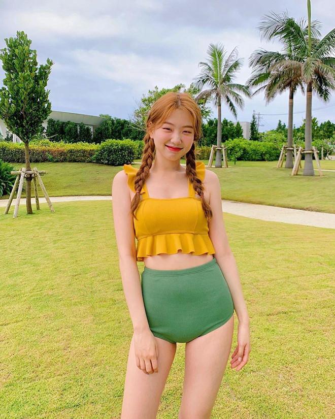 Hot girl mat mot mi Han Quoc noi tieng voi biet danh 'nang tien' hinh anh 2
