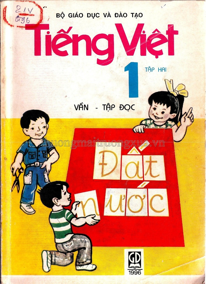 sach Tieng Viet lop 1 nam 1996 anh 1