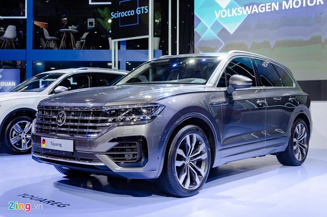 'Duong luoi bo' tren xe Volkswagen trung bay tai VMS 2019 hinh anh 2