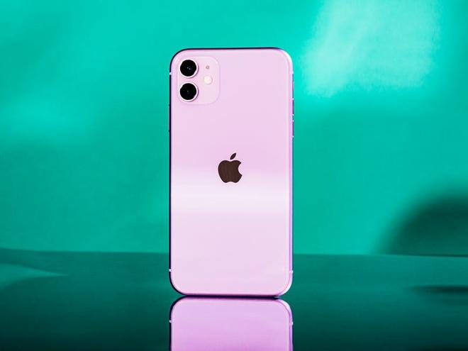 iPhone qua su dung dang mua anh 5
