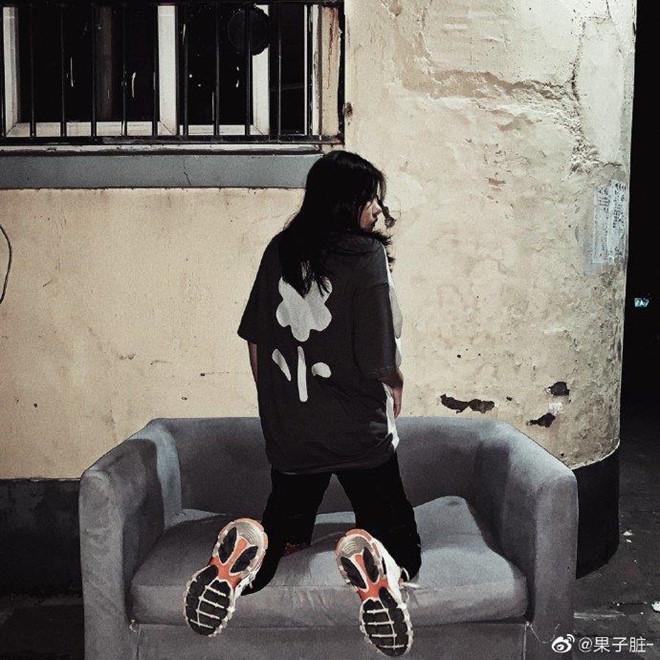 Hot girl Trung Quoc lo chan ngan, khac xa anh ao dang tren mang hinh anh 5