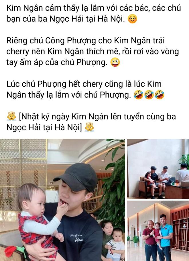 Fan ghen ty vi con gai Hai Que duoc check-in cung bo Park, Cong Phuong hinh anh 2
