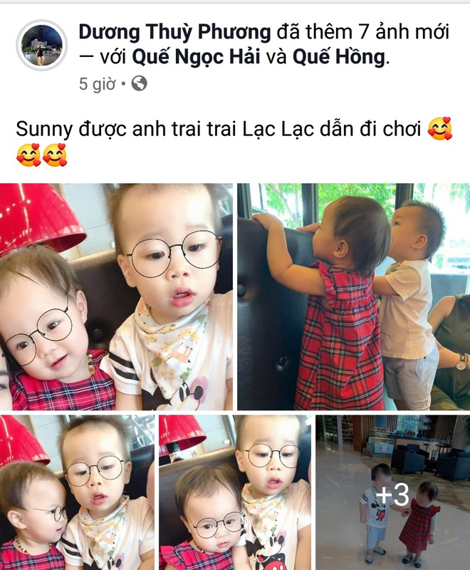 Fan ghen ty vi con gai Hai Que duoc check-in cung bo Park, Cong Phuong hinh anh 4