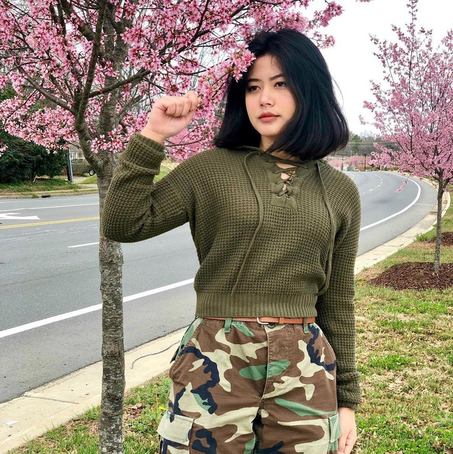 Hot girl My gay chu y voi nhung man cover bai hat tieng Viet hinh anh 5 50837303_379911279454178_6375878526612309204_n.jpg