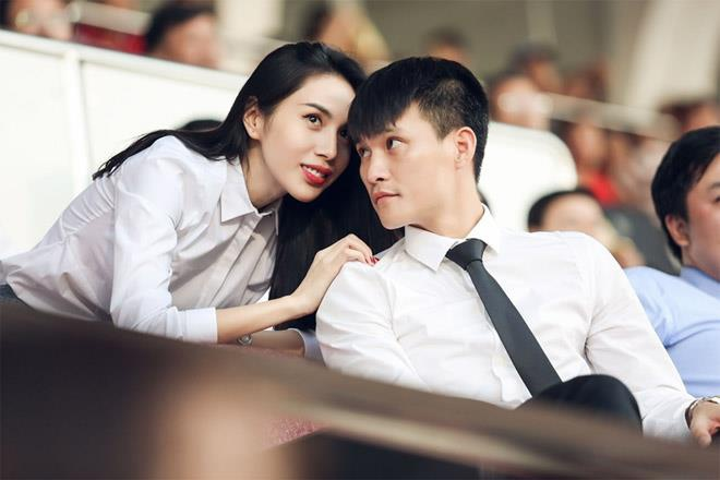 Quynh Anh, Thuy Tien va nhung nang WAGs noi tieng giau co hinh anh 8 1527388678375congvinh21527387389width660height440_1.jpg