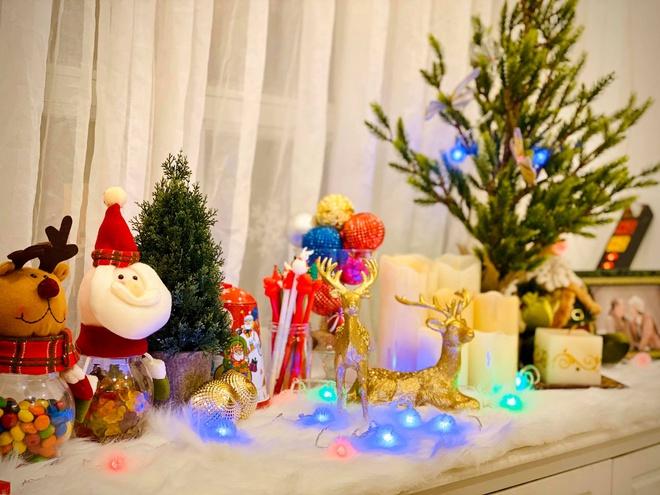 Thuy Hanh trang hoang biet thu don Noel hinh anh 6