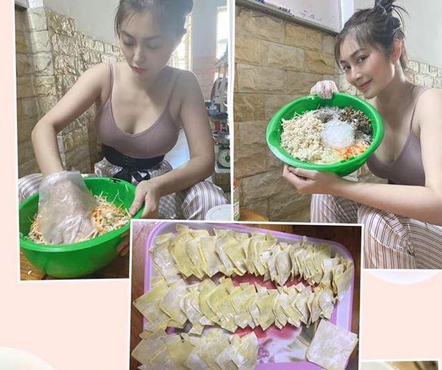 Le Giang ban nuoc cam, Thanh Truc ban do an hinh anh 1 90249857_10222649754855126_2470242941281501184_o.jpg